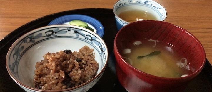 酵素玄米飯